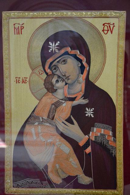 Икона, преподнесенная в дар Святейшему Патриарху сестрами