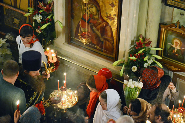 Ночное Пасхальное богослужение