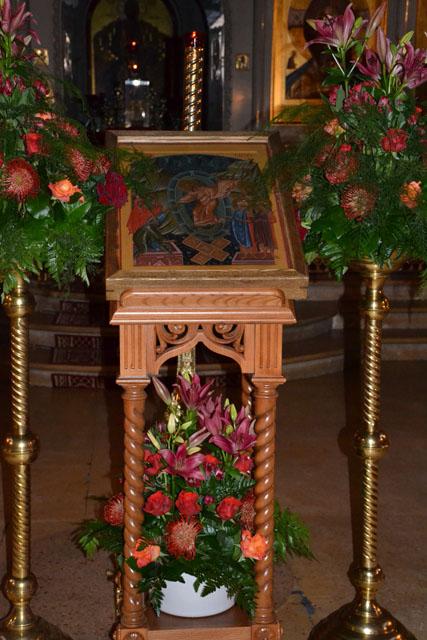 Пасха Христова. После ночного богослужения в храме