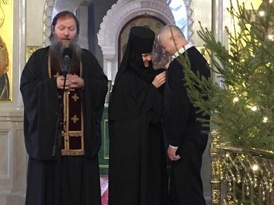 Награждение Игоря Ивановича Герасимова