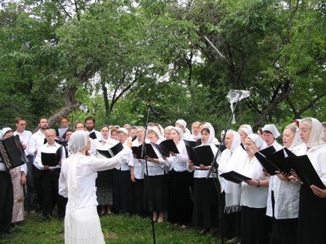 Выступление на престольный праздник Всех святых