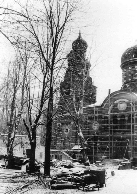 Восстановление храма Всех святых