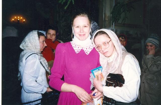 Юля и Елена Вадимовна