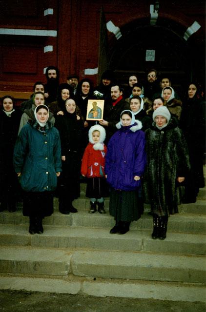 1996 год, правый хор