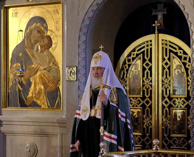Посещение нашей обители Святейшим Патриархом Кириллом 27 апреля 2016 года