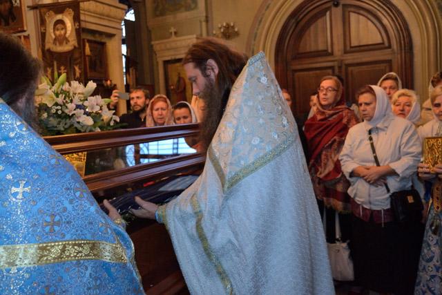 Чин Погребения Пресвятой Богородицы
