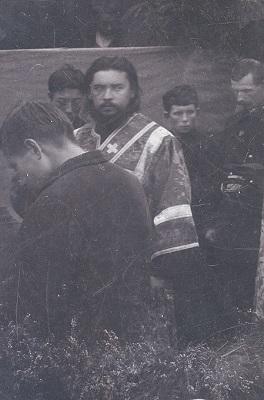 Диакон Алексеевского монастыря Иоанн Сперанский