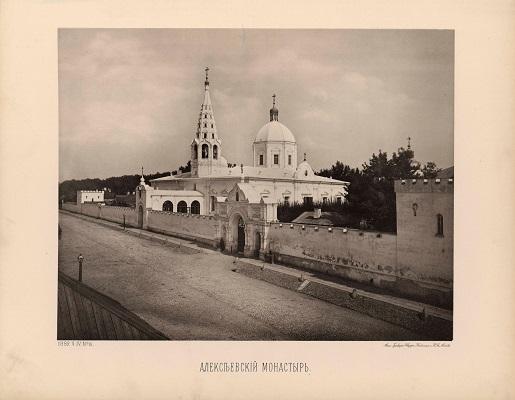 Крестовоздвиженский храм Алексеевского монастыря