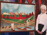 Коллаж Панорама Московского Кремля XII века. Проект по предмету Русской художественной культуры
