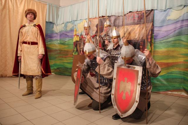 Опера Князь Игорь (на территории храма свт.Тихона Задонского в парке Сокольники)