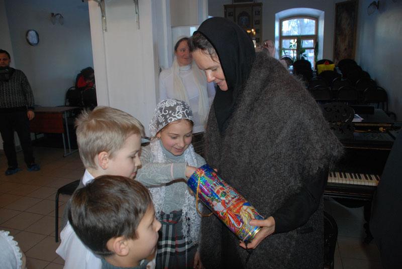 Рождественский концерт для Матушки игумении 08 января